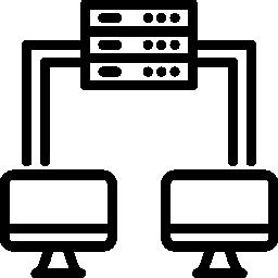 Icon digitale Synchronisation