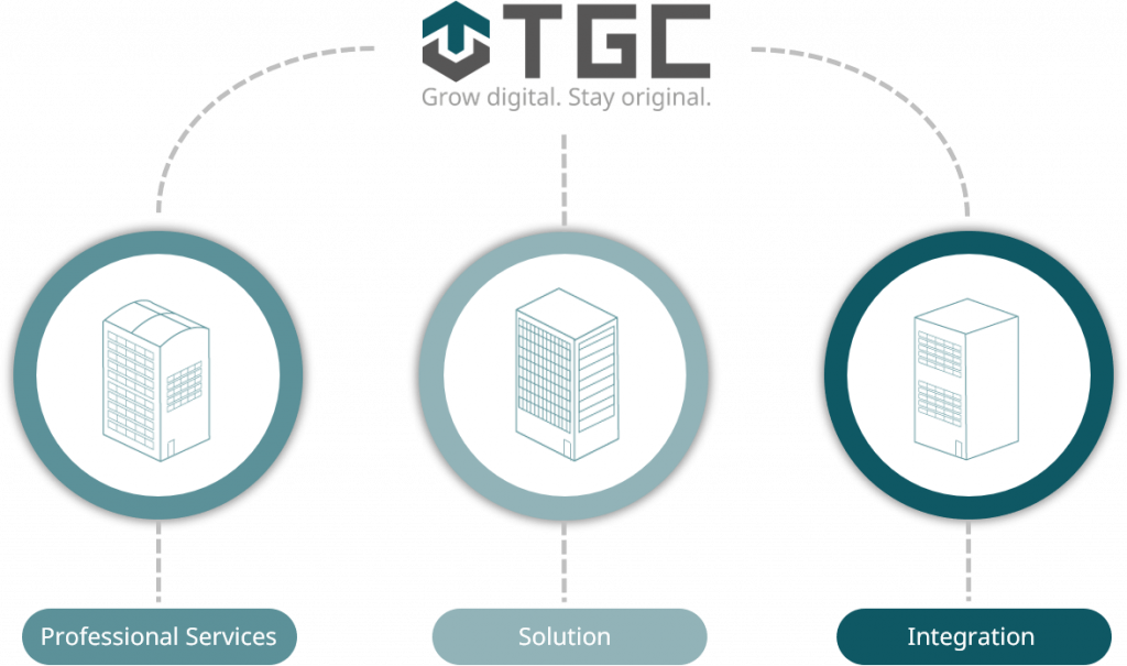 Units Professional Services, solution und Integrationder TGC Group