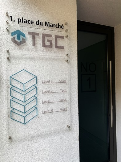 Eingang Grevenmacher TGC Group