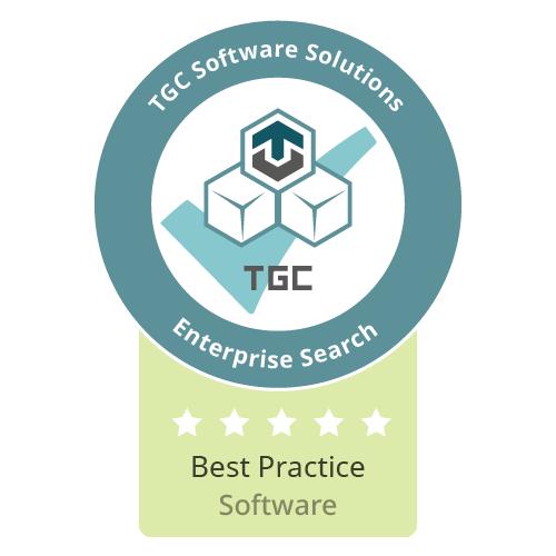 Siegel Beste Software für Enterprise Search