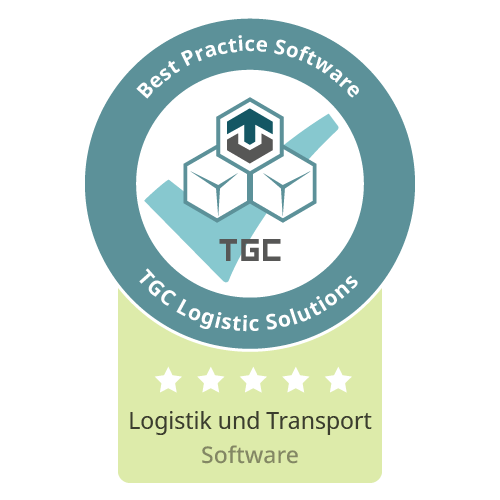 Siegel Beste Software für Logistik und Transport