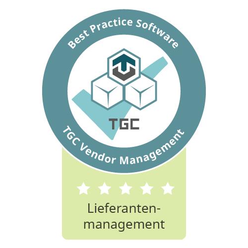 Siegel Beste Software für Lieferantenmanagement