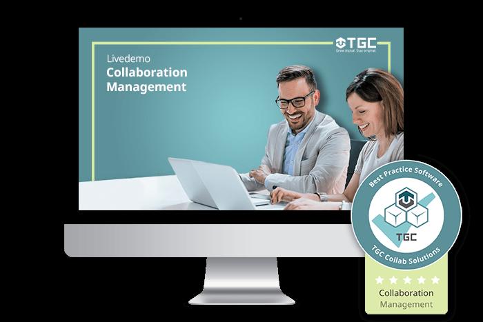 Live-Demo zu Software für digitales Collaboration Management