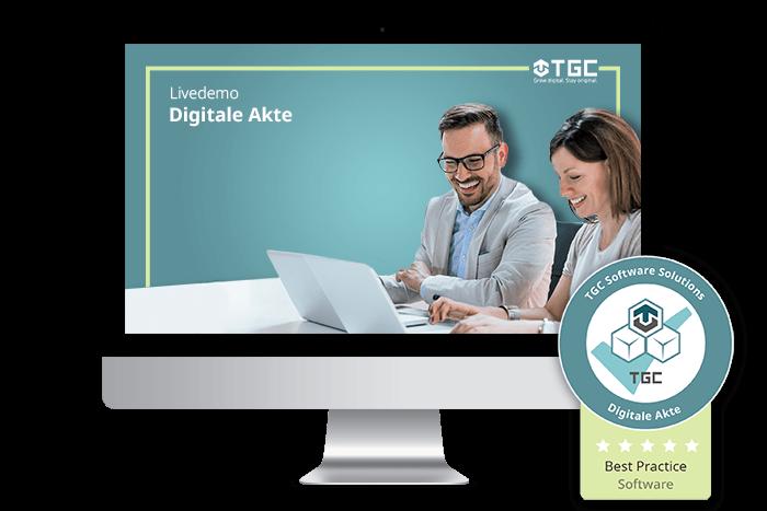 Live-Demo von Software für Digitale Akte
