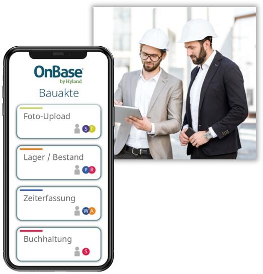 Screenshot OnBase