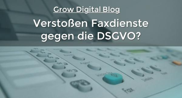 Datenschutzprobleme des Faxgeräts 2021