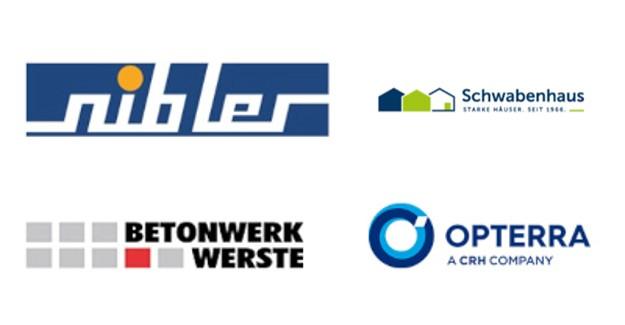 Logos der Bausoftware Kunden der TGC-Gruppe